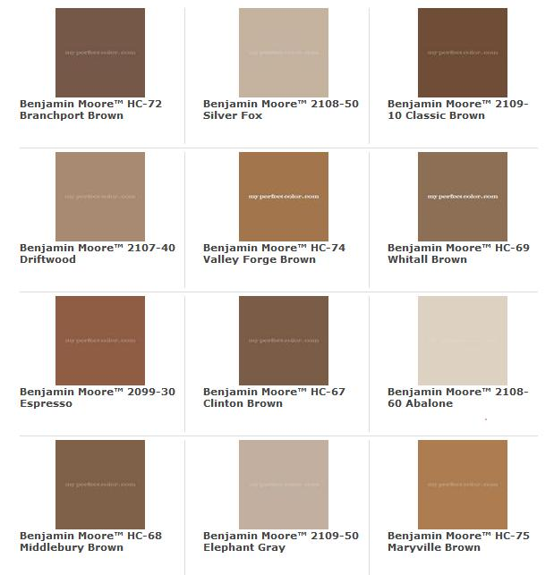 Inner reality paint colors for your home tv time 101 for Benjamin moore exterior paint color chart