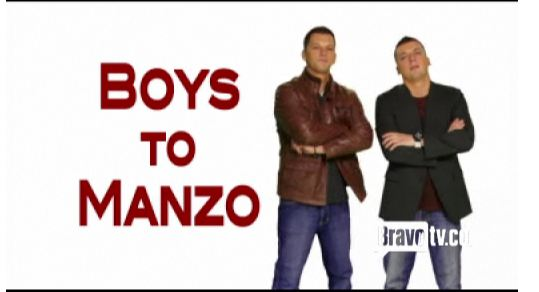Albie and Chris Manzo  Boys to manzo