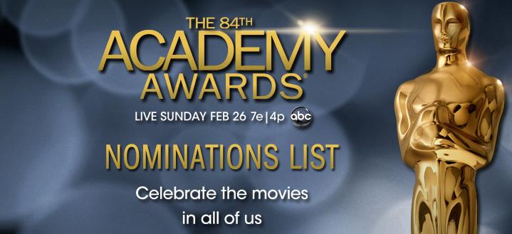 2012 Oscars noms ad