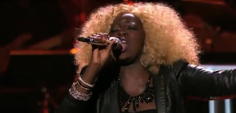 American Idol Zoanette Johnson
