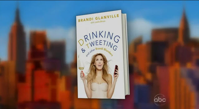 Brandi Drinking and tweeting