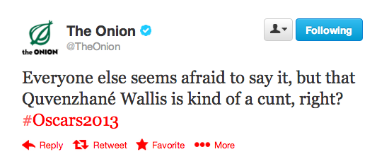 The Onion Tweet