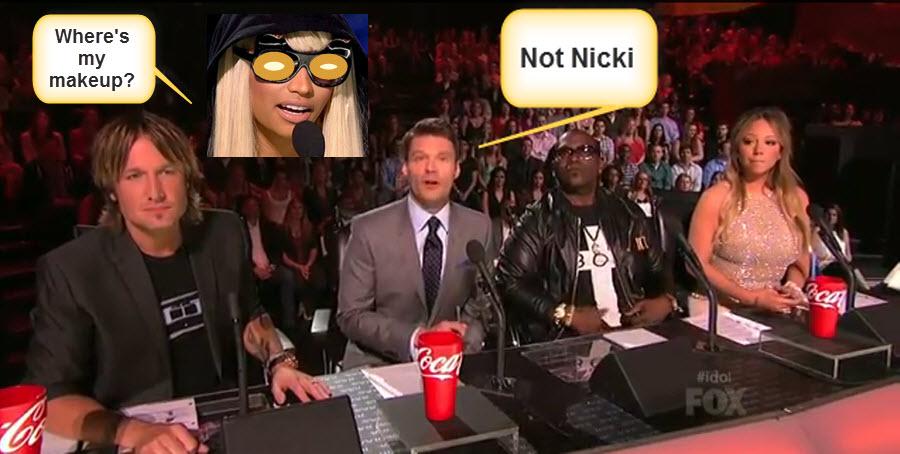 American Idol Nicki Late2